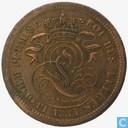Belgium 2 centimes 1834
