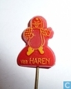 Van Haren [geel op rood]