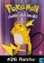 Raichu - Pokemon