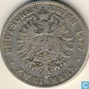 Pruisen 2 mark 1877 (A)