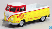 Voitures miniatures - Johnny Lightning - Volkswagen Transporter T1 'Coca-Cola'