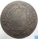 Frankrijk 5 francs AN 12 (L)