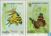 Butterflies 1993 / European Year of Older Persons (MAL 229)