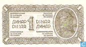 Yougoslavie 1 Dinar 1944