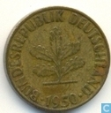 Germany 5 pfennig 1950 (G)