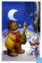 Kerstkaart 2007 - 2008 - Uitgeverij Panda