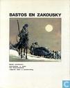 Strips - Bastos en Zakousky - Het sneeuwkasteel