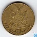 Namibia 1 dollar 2002