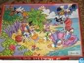 Donald Duck op vakantie