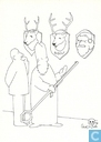 "U000337 - Sinterklaas Kartoentje ""Rudolf"""