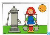 kinderversjes kinderpostzegelkaarten