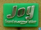 Joy Gezond en razend lekker [goud op groen]