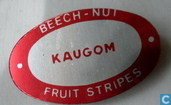 Beech-Nut Fruit Stripes kaugom