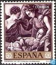 Postage Stamps - Spain [ESP] - Paintings
