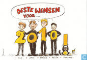 Jan Bosschaert nieuwjaarskaart 2010