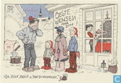 Jan Bosschaert Nieuwjaarskaart 2001