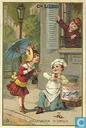 Déclaration d'amour du patissier (la