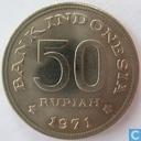 Indonesia 50 rupiah 1971