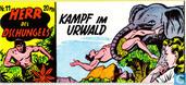 Kampf im Urwald