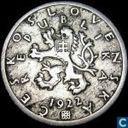 Tsjecho-Slowakije 50 haleru 1922