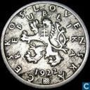Czechoslovakia 50 haleru 1922