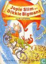 Bucher - Jopie Slim en Dikkie Bigmans - Jopie Slim en Dikkie Bigmans op de ruimtefiets