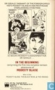 Comic Books - Modesty Blaise - In the Beginning
