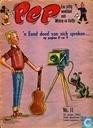 Strips - Bob Spaak op zijn sport praatstoel - Pep 11