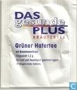 Tea bags and Tea labels - Das Gesunde Plus (DM) - Grüner Hafertee