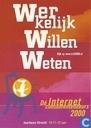"""B003541 - Jaarbeurs Utrecht Internet consumentenbeurs 2000 """"Werkelijk willen weten"""""""
