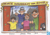 Jan Bosschaert Nieuwjaarskaart 2007