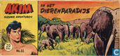 Comics - Akim - In het dierenparadijs