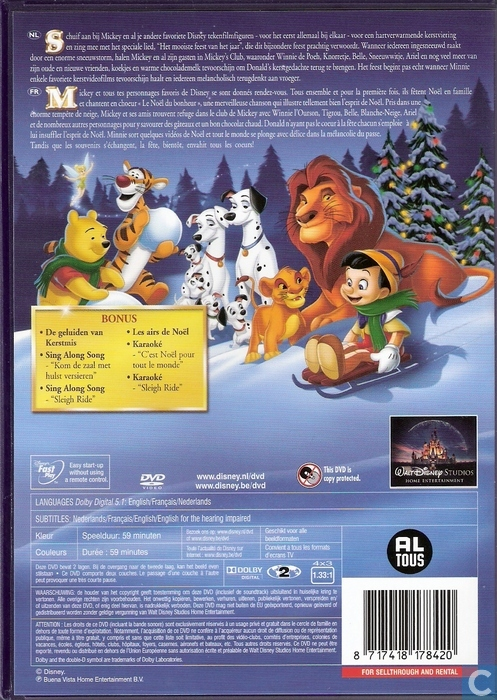 mickeys magical christmas ingesneeuwd in enlarge image - Mickey Magical Christmas