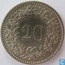 Coins - Switzerland - Switzerland 20 rappen 1975