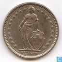 Coins - Switzerland - Switzerland 2 francs 1968 (B)