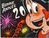 Kerstkaart 2000 - Carte de Voeux 2000 Jidéhem