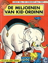 Bandes dessinées - Chick Bill - De miljoenen van Kid Ordinn