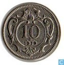 Austria 1910 10 heller