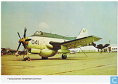 Fairey Gannet, Greenham Common