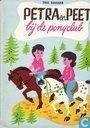 Petra en Peet bij de ponyclub