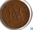 South Africa 2 cents 1970