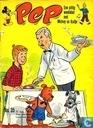 Strips - Bob Spaak op zijn sport praatstoel - Pep 35