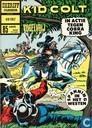 Strips - Jim Malowe - Kid Colt in actie tegen Cobra King