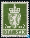 Postage Stamps - Norway - 1975 OFF. SAK II 200