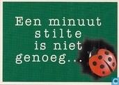 """B002127 - Stichting Tegen Zinloos Geweld """"Een minuut stilte is niet genoeg..."""""""