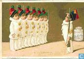 Petits Pierrots en soldats