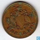 Barbados 5 cents 1973