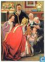 Sinterklaas geeft jongetje een speelgoedbeer