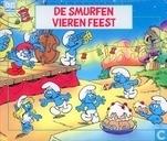 De Smurfen vieren feest