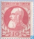 "King Leopold II (Type ""coarse beard"")"